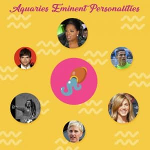 Aquarius Eminent Personalities