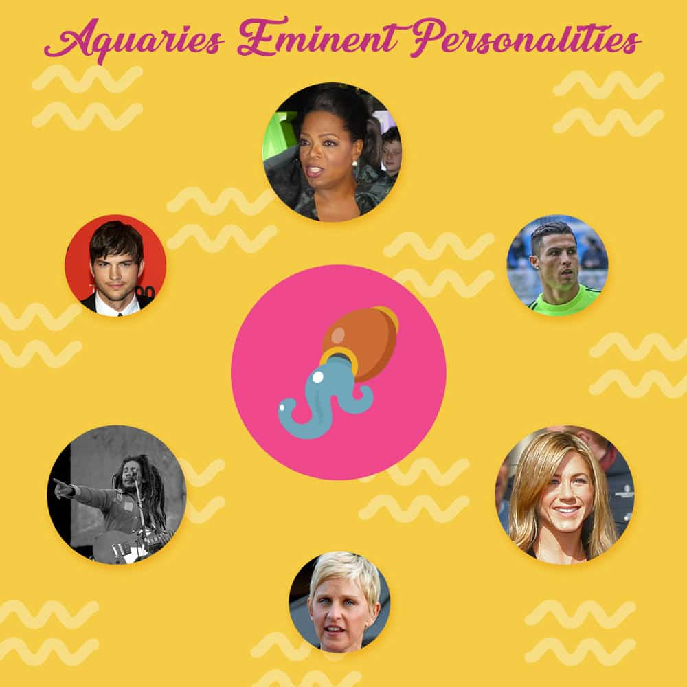 Aquarius Eminent Personalities and 13 Interesting Personality Traits