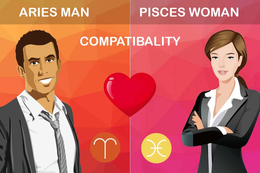 Pisces woman aries man sexually compatible