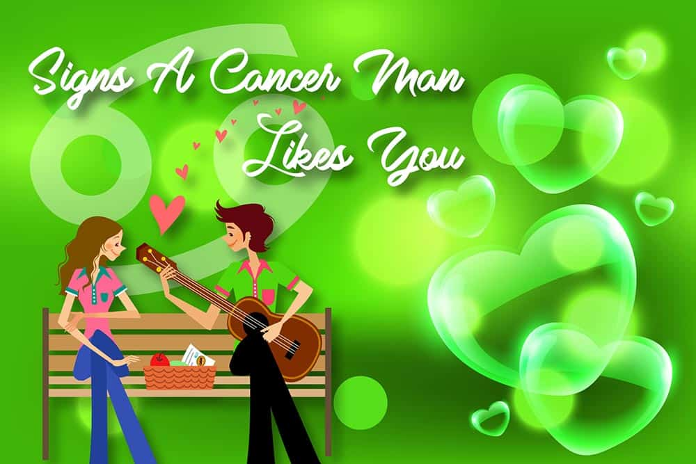 12 Obvious Signs a Cancer Man Likes You - Numerologysign com