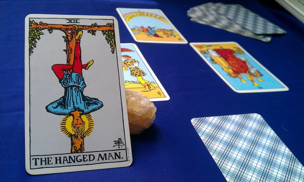 The Hanged Man Tarot Card Meaning Upright & Reversed