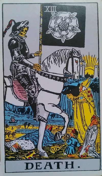Upright Death Tarot Card Meaning – Major Arcana XIII