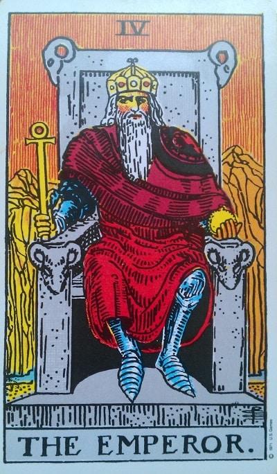 Upright Emperor Tarot Card Meaning – Major Arcana IV