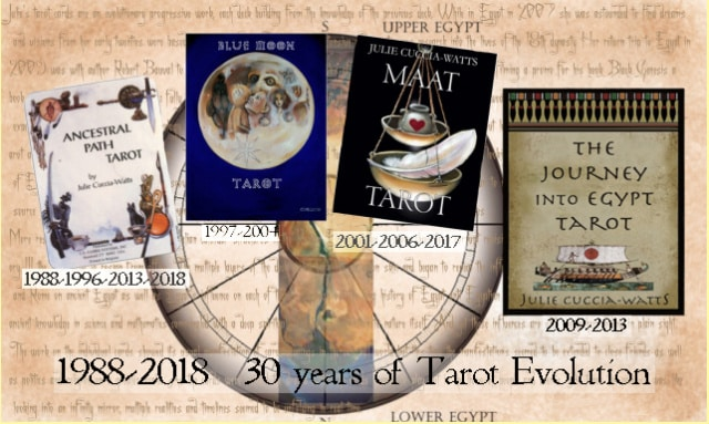 Maat Tarot Deck 30 Years of Evolution
