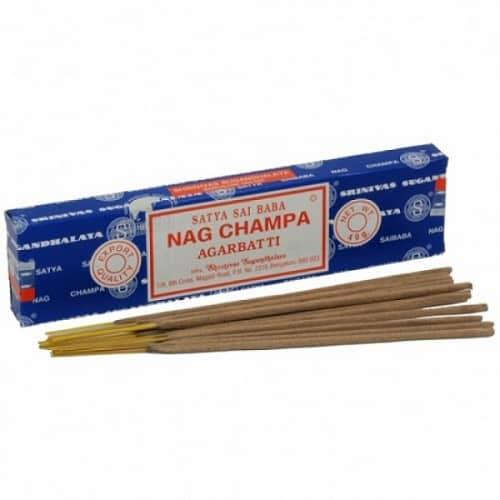 Satya Incense Nag Champa, Meditation, and Spiritual Healing