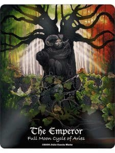 The Emperor - Full Moon Cycle of Aries - Maat Tarot Deck Review