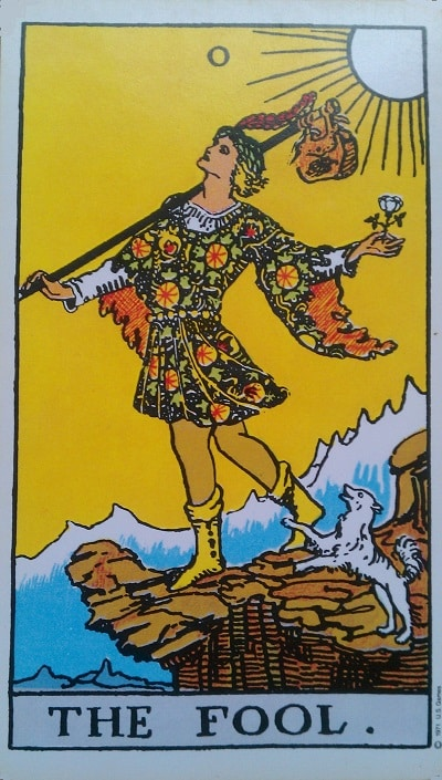 Upright Fool Tarot Card Meaning – Major Arcana