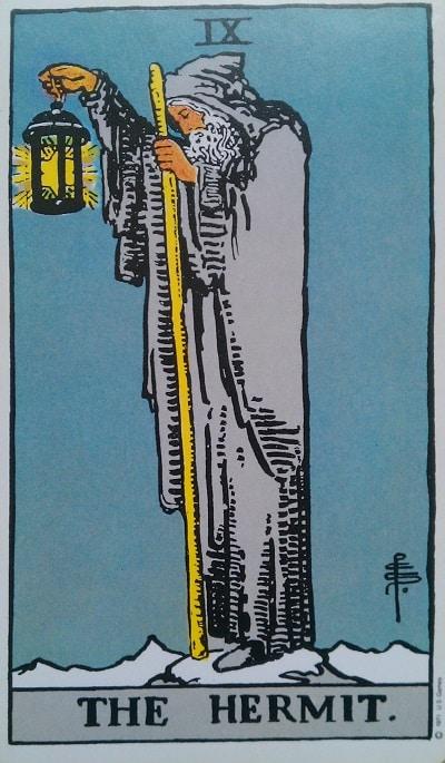 Upright Hermit Tarot Card Meaning – Major Arcana