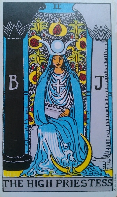 Upright High Priestess Tarot Card Meaning – Major Arcana