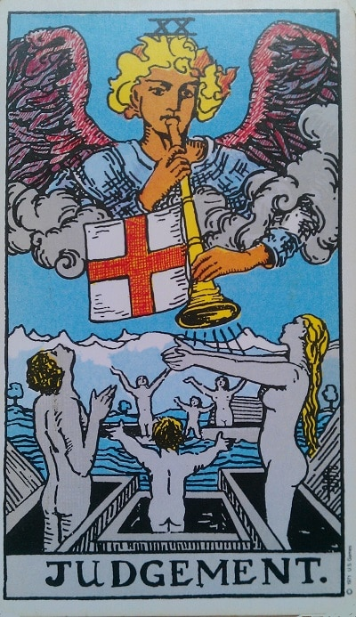 Upright Judgement Tarot Card Meaning – Major Arcana