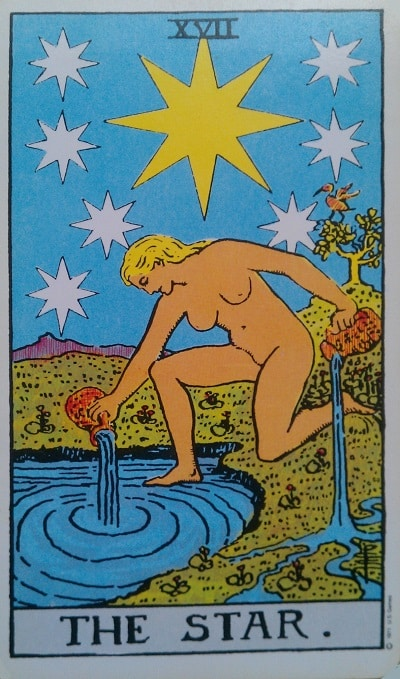 Upright Star Tarot Card Meaning – Major Arcana