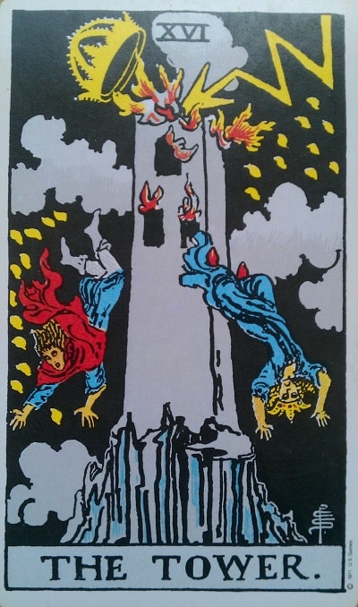 Upright Tower Tarot Card Meaning – Major Arcana