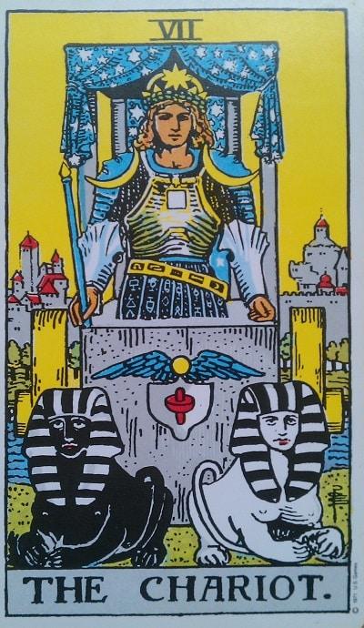 Upright Chariot Tarot Card Meaning – Major Arcana