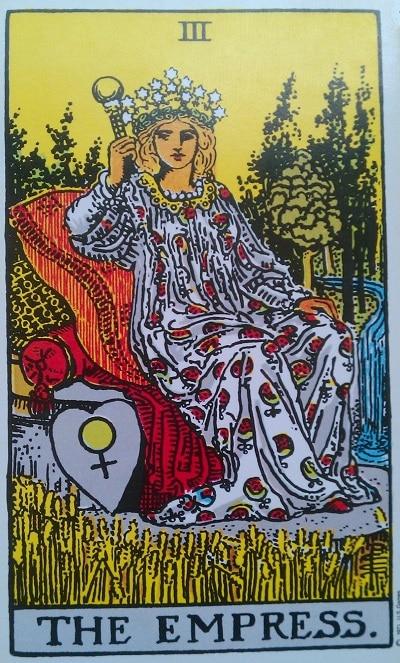 Upright Empress Tarot Card Meaning – Major Arcana