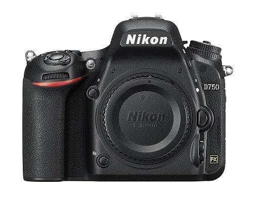 NIKON D750 FX-Series Digital Body 24.3MP SLR Camera - Best DSLR Camera for Astrophotography