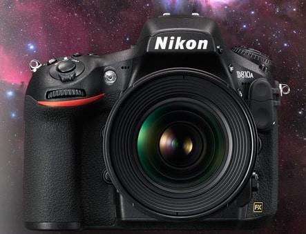Nikon D810A FX-format Digital SLR - Best DSLR Camera for Astrophotography