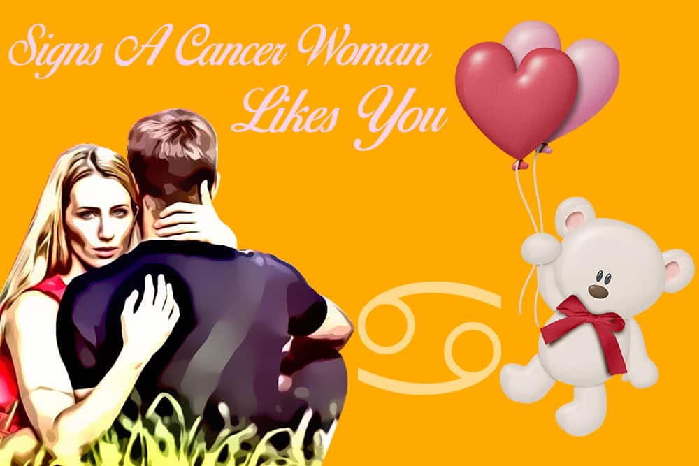 12 Obvious Signs A Cancer Woman Likes You