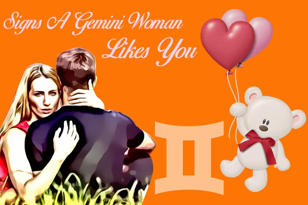 12 Obvious Signs a Gemini Woman Likes You - Numerologysign com