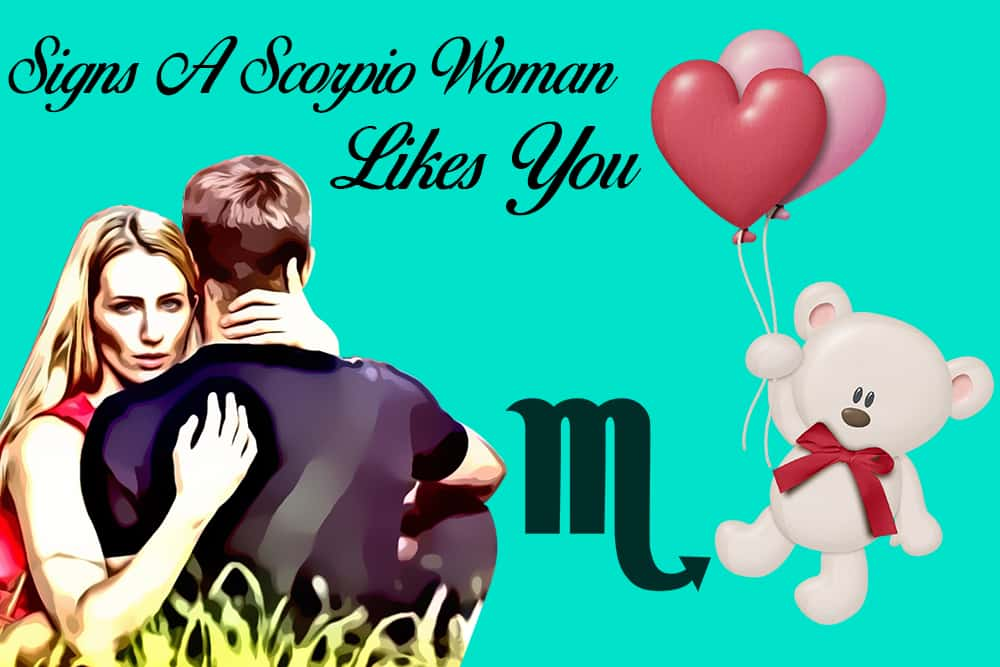 12 Obvious Signs a Scorpio Woman Likes You - Numerologysign com