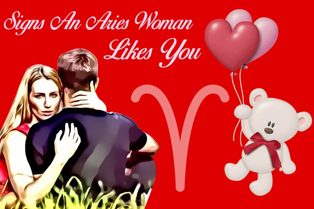 12 Obvious Signs an Aries Woman Likes You - Numerologysign com