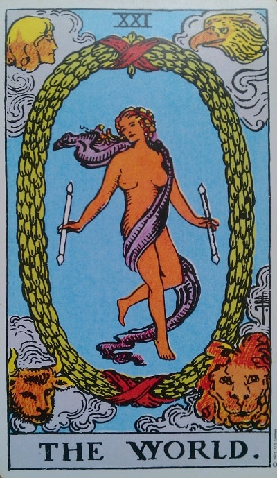 The World Tarot Card Meaning Upright and Reversed
