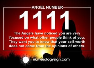 Angel Number 1111 Meanings