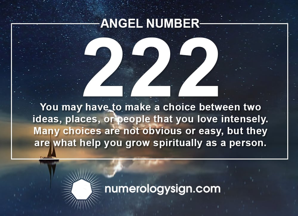 Angel Number 222 Meanings