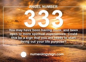 Angel Number 333 Meanings