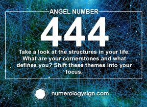 Angel Number 444 Meanings