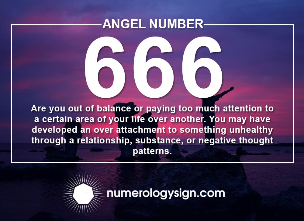 Angel Number 666 Meanings