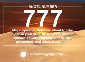 Angel Number 777 Meanings