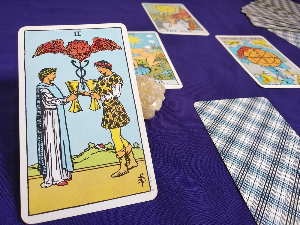 The (2) Two of Cups Tarot Card Meaning – Minor Arcana