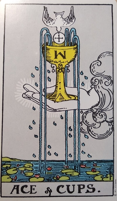 Upright Ace of Cups Tarot Card Meaning – Minor Arcana