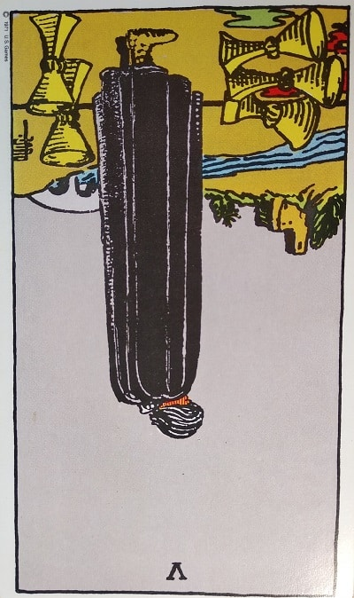 Reversed (5) Five of Cups Tarot Card Meaning – Minor Arcana