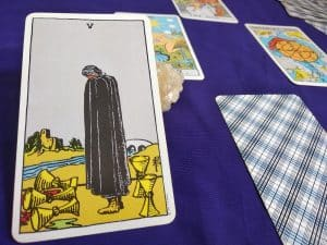 The (5) Five of Cups Tarot Card Meaning – Minor Arcana