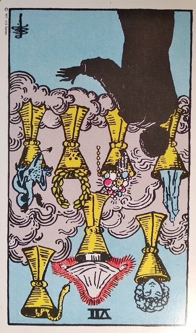 The Seven of Cups Tarot Card Meaning Upright and Reversed