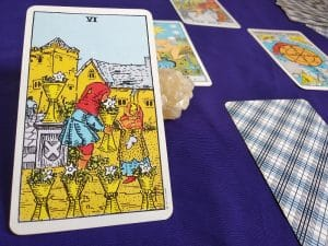 The (6) Six of Cups Tarot Card Meaning – Minor Arcana