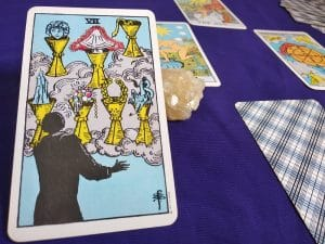 The (7) Seven of Cups Tarot Card Meaning – Minor Arcana