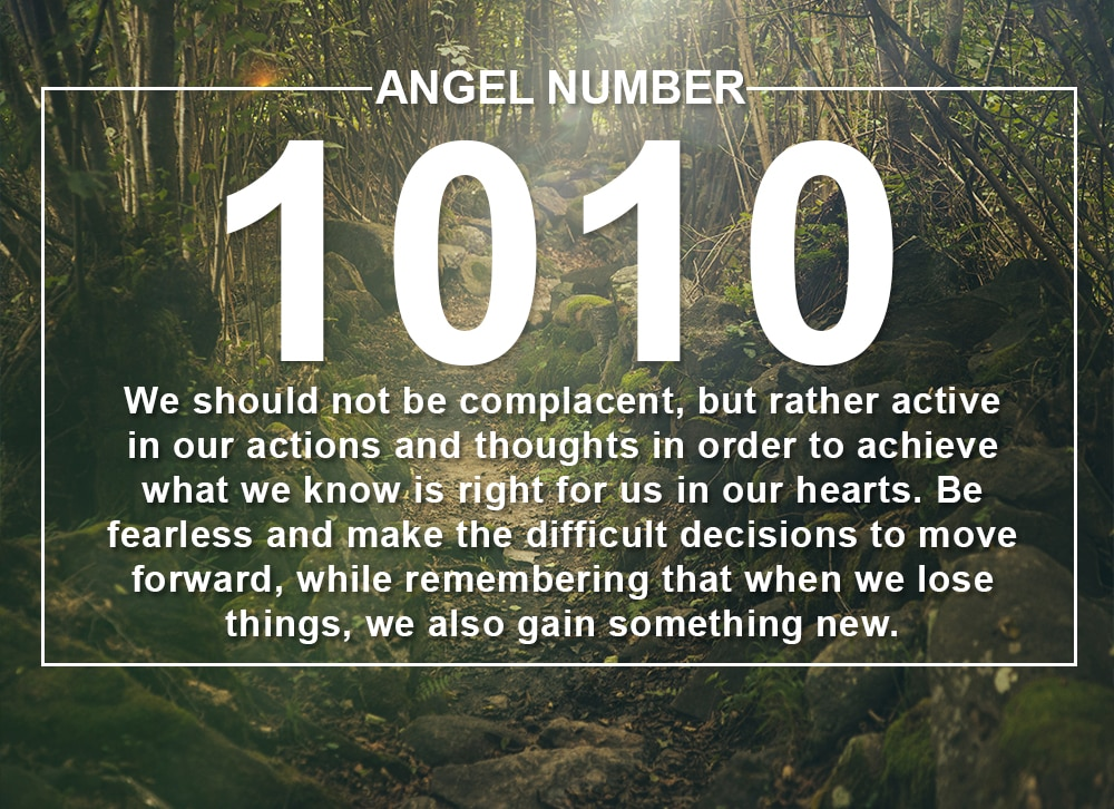 Angel Number 1010 Meanings