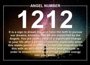 Angel Number 1212 Meanings