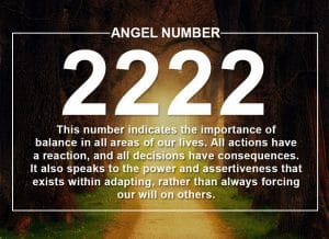 Angel Number 2222 Meanings