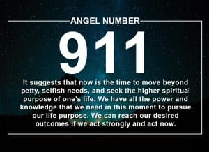Angel Number 911 Meanings