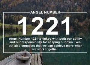 Angel Number 1221 Meanings