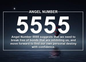 Angel Number 5555 Meanings