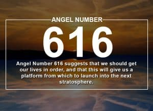 Angel Number 616 Meanings
