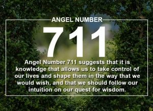 Angel Number 711 Meanings