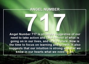 Angel Number 717 Meanings