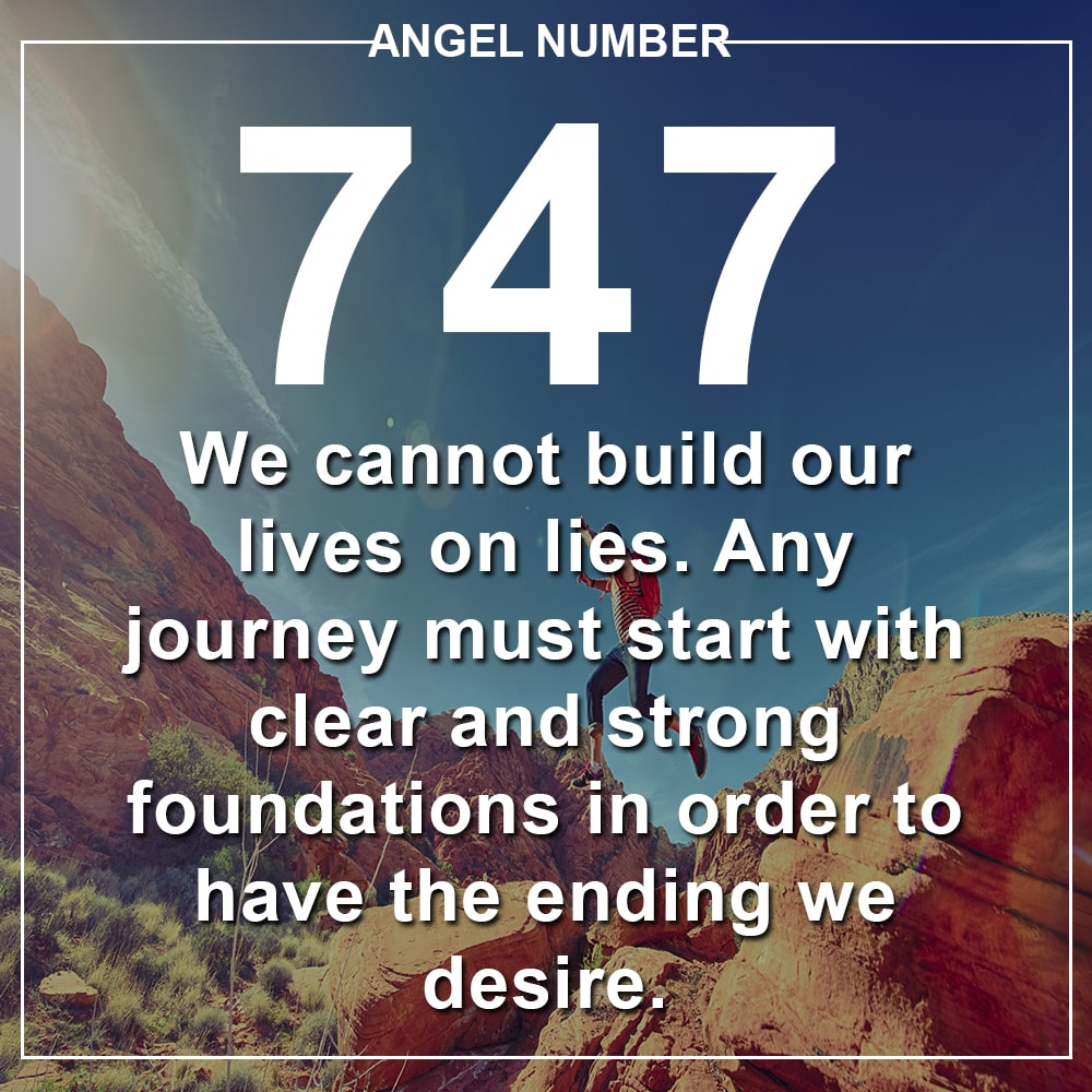 Angel Number 747 Meanings – Why Are You Seeing 747?