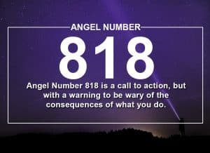 Angel Number 818 Meanings