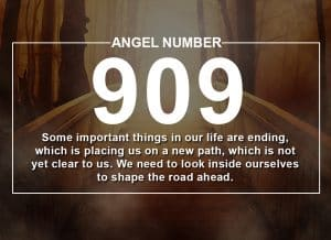 Angel Number 909 Meanings